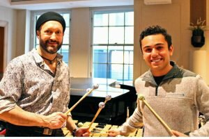 Arthur Lipner and Stephen Blinder will perform with Weston musicians past and present, at a concert in Weston on Friday, Feb. 9.