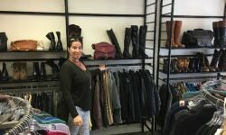 Danielle Melrose-Balasny, manager at Upscale Resale at Nine Bailey, said the store's inventory is selected with Ridgefield's fashion forward and professional clientele in mind.